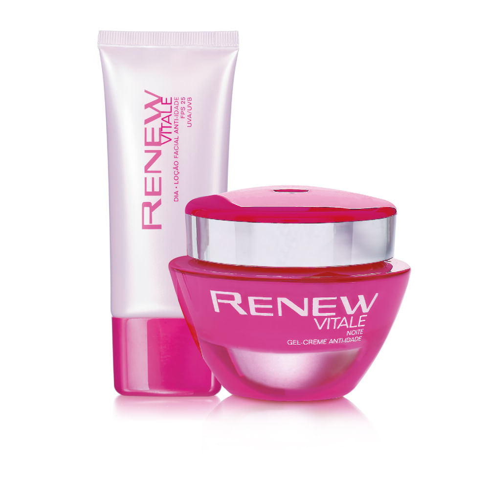 25 30 30 Helloworld: Kit Renew Vitale 25+ Dia E Noite