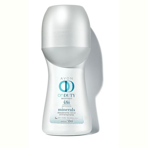 Desodorante Roll-on On Duty Minerals 48h Feminino 50ml