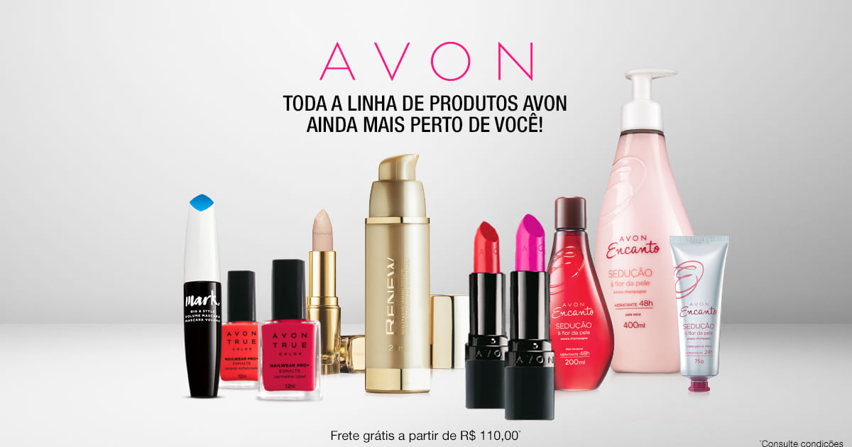 SHARE. Hand out Avon brochures to family and friends and put your free Avon Online Store to work so your customers can shop with you 24/7.